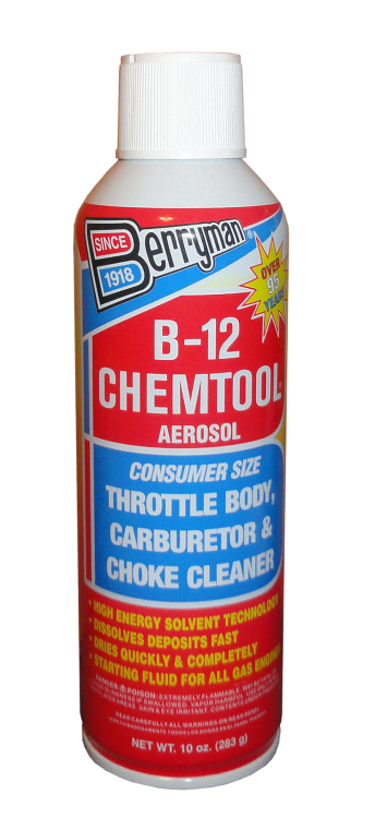 Berryman® B-12 Chemtool® Carburetor, Choke and Throttle Body