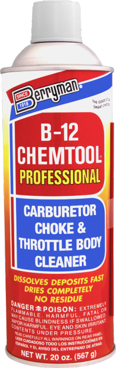 Berryman® B-12 Chemtool® Carburetor, Choke and Throttle Body