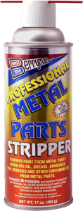 metal parts stripper 17 ounce spray can
