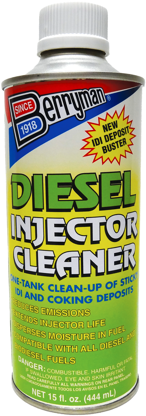 How To Use Fuel Injector Cleaner >> Berryman® Diesel Injector Cleaner | Berryman Products