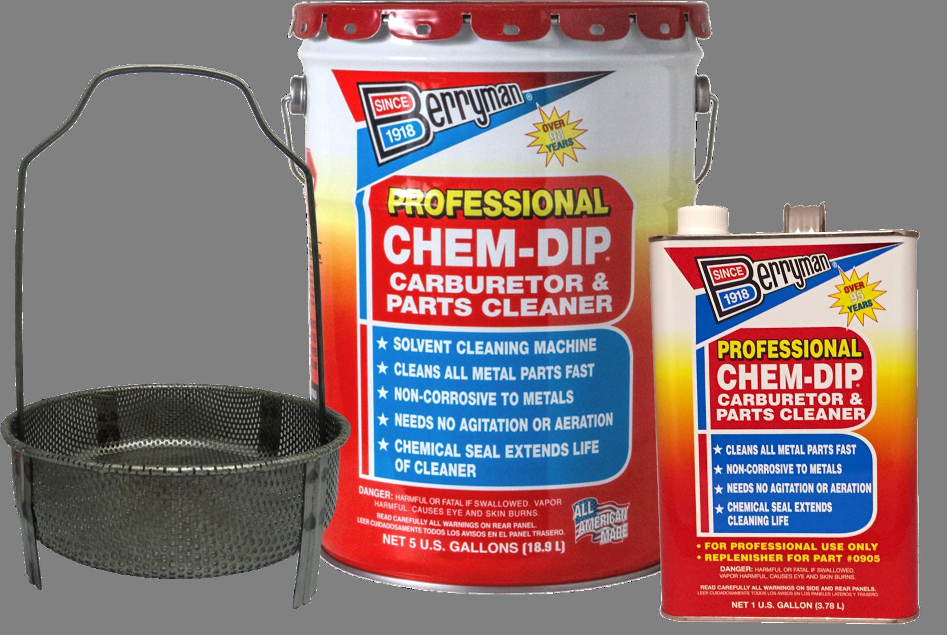 Berryman® Chem-Dip® Professional Parts Cleaner | Berryman