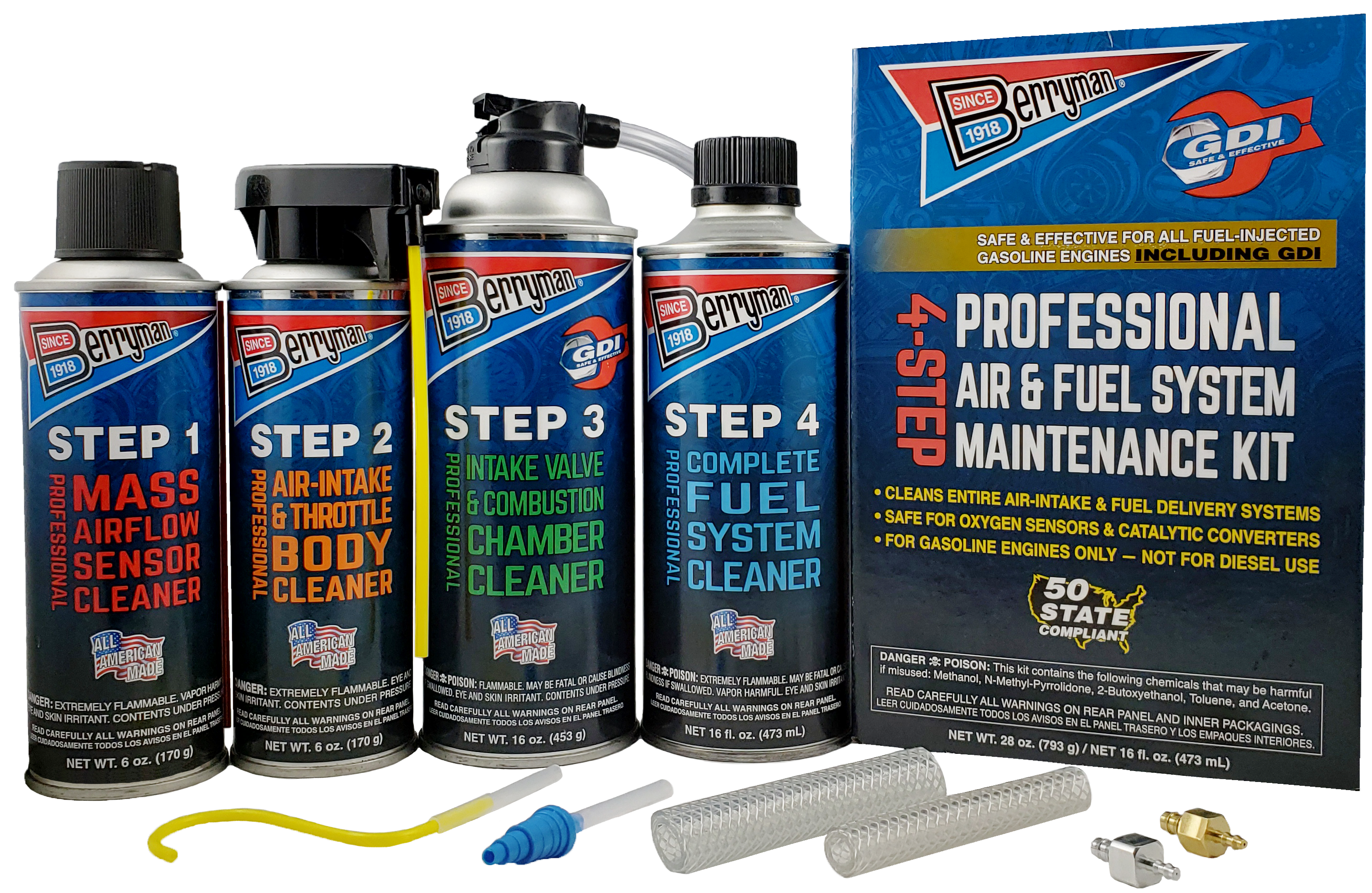 Berryman® 4-Step Professional Air & Fuel System Maintenance