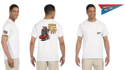 Berryman Pour It and Floor It T Shirt