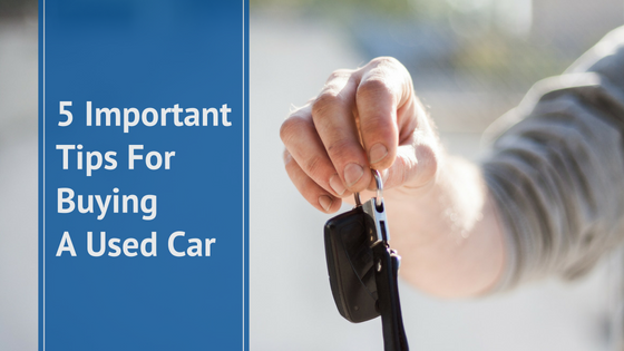 Tips for Buying Used Car