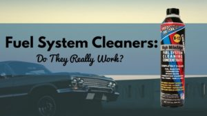 Fuel System Cleaners 1