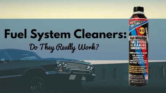 Fuel System Cleaners