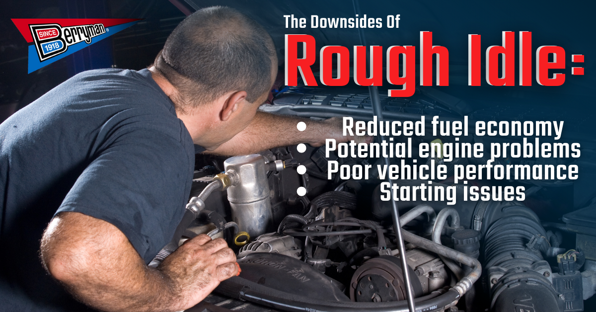 Trying to diagnose and fix a rough idle before it gets worse.