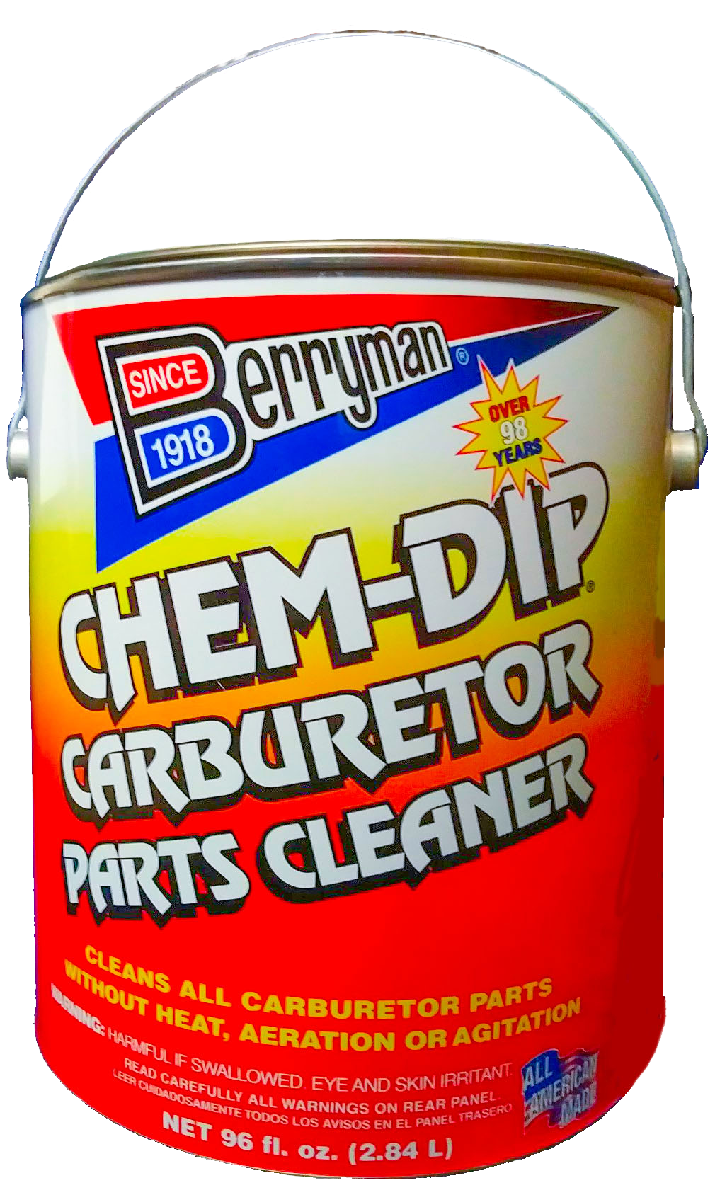 Berryman® Chem-Dip® Carburetor Parts Cleaner | Berryman Products