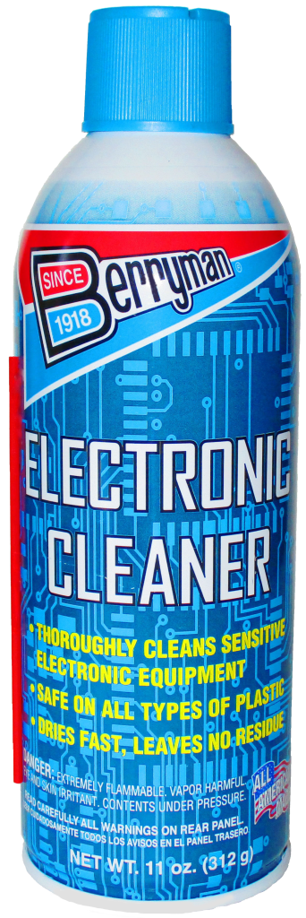 berryman electronic cleaner 2206 tube aerosol extension cleaners sds