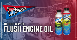 THE BEST WAY TO FLUSH ENGINE OIL