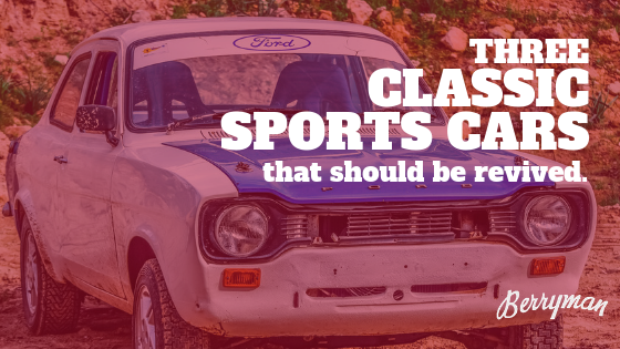 The Ford Escort RS is one of the classic sports cars that we would like to see return.